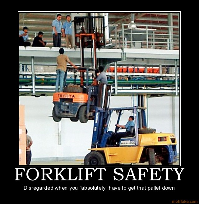 Forklift Safety | Speaking of Precision Blog