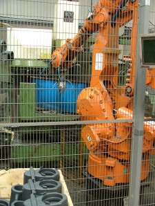 Robotic Manufacturing Cell