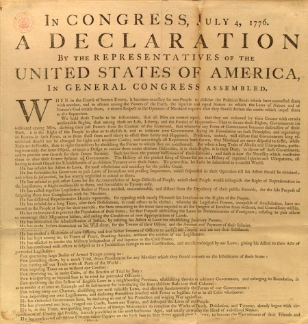 George Washington's Copy Courtesy Library of Congress