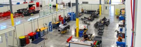 Indy Car Factory Tour