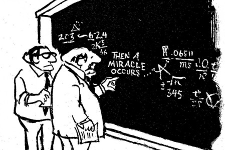 """""""Unknown controls"""" in science are like """"Then a miracle happens' in Theology."""