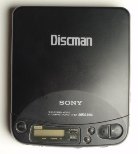 Sony Discman 1990's music