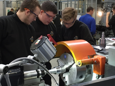 Apprenticeships to build a pipeline of skilled professionals for a great manufacturing career.